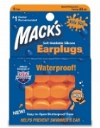 Mack's Pillowsoft Kids Size - Orange - 6 Pair Box