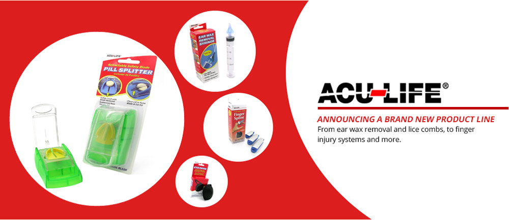 acu-life new product line